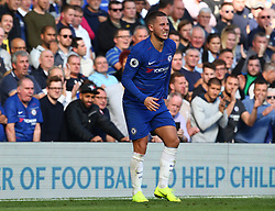 October 20, 2018 - London, England, United Kingdom - London, England - October 20: 2018.Chelsea's Eden Hazard.during Premier League between Chelsea and Manchester United at Stamford Bridge stadium , London, England on 20 Oct 2018. (Credit Image: © Action Foto Sport/NurPhoto via ZUMA Press)