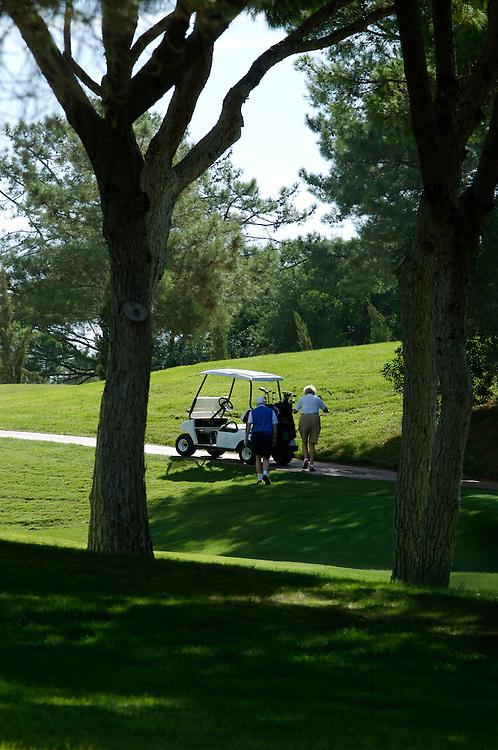 Golf course, Algarve, Portugal.