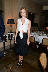 ANNABELLE WALLIS at an evening of Dinner & Dancing at Daphne's, 112 Draycott Avenue, London SW3 on 24th July 2013.
