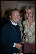 TONY CHAMBERS; SUZANNE TROCME;  , Born in the USSR, Design exhibition opening. Gallery Elena Shchukina, Beauchamp Place, Knightsbridge. London. 15 September 2014.