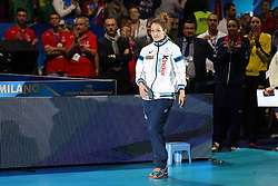 MONICA DE GENNARO BEST LIBERO<br /> AWARDING CEREMONY<br /> VOLLEYBALL WOMEN'S WORLD CHAMPIONSHIP 2014<br /> MILAN 12-10-2014<br /> PHOTO BY FILIPPO RUBIN