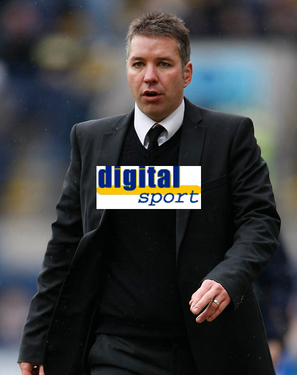 Photo: Steve Bond/Richard Lane Photography. Preston North End v Cardiff City. Coca Cola Championship. 27/02/2010. Preston manager Darren Ferguson