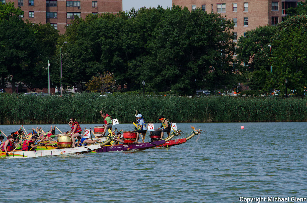 FDNYEMS Dragons at the 2013 Dragon boat meet at flushing Meadow Park