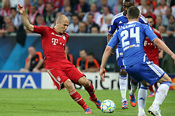 19.05.2012, Allianz Arena, Muenchen, GER, UEFA CL, Finale, FC Bayern Muenchen (GER) vs FC Chelsea (ENG), im Bild Arien Robben Bayern // during the Final Match of the UEFA Championsleague between FC Bayern Munich (GER) vs Chelsea FC (ENG) at the Allianz Arena, Munich, Germany on 2012/05/19. EXPA Pictures © 2012, PhotoCredit: EXPA/ Insidefoto/ Paolo Nucci..***** ATTENTION - for AUT, SLO, CRO, SRB, SUI and SWE only *****