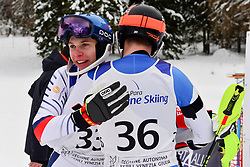 Super Combined and Super G, BAUCHET Arthur, LW3, FRA, PFYL Thomas, LW9-2, SUI at the WPAS_2019 Alpine Skiing World Championships, Kranjska Gora, Slovenia