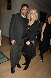 JEFFREY CHODOROW and his wife LINDA at a party to celebrate the launch of the Suka restaurant at the Sanderson Hotel, berners Street, London on 15th March 2007.<br />