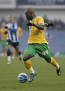 Sheffield - Sunday November 29th, 2008: Leroy Lita of Norwich City in action during the Coca Cola Championship match against Sheffield Wednesday at Hillsborough, Sheffield. (Pic by Michael Sedgwick/Focus Images)