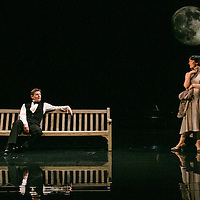 Waste by Harley Granvelle Barker;<br /> Directed by Roger Michell;<br /> Charles Edwards as Henry Trebell;<br /> Olivia Williams as Amy O'Connell;<br /> Lyttelton Theatre, National Theatre, London, UK;<br /> 9 November 2015