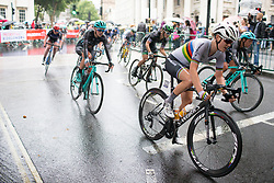 Amalie Dideriksen (DEN) of Boels-Dolmans Cycling Team accelerates out of a corner during the Prudential Ride London Classique - a 66 km road race, starting and finishing in London on July 29, 2017, in London, United Kingdom. (Photo by Balint Hamvas/Velofocus.com)