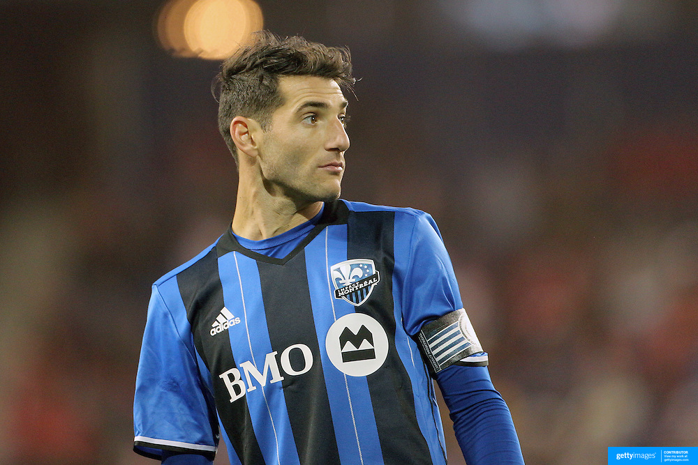 HARRISON, NEW JERSEY- November 06:  Ignacio Piatti #10 of Montreal Impact during the New York Red Bulls Vs Montreal Impact MLS playoff match at Red Bull Arena, Harrison, New Jersey on November 06, 2016 in Harrison, New Jersey. (Photo by Tim Clayton/Corbis via Getty Images)