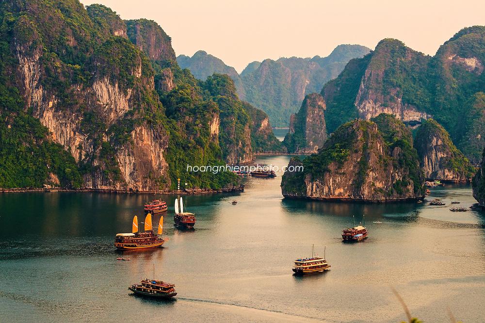 Vietnam Images-landscape-seascape- Unesco heritage hoàng thế nhiệm