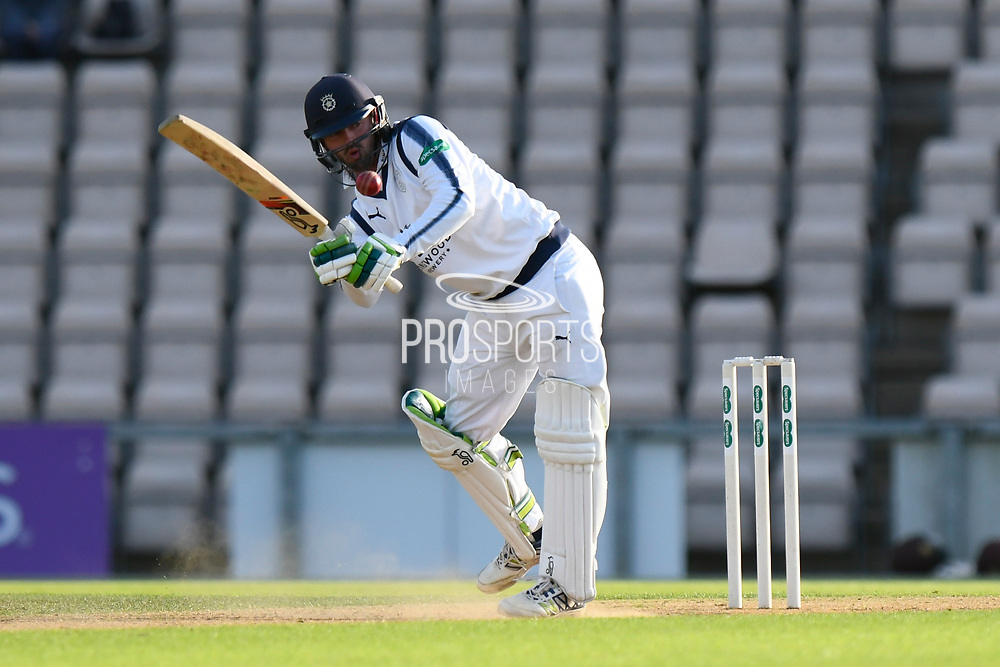 Ian Holland of Hampshire batting during the Specsavers County Champ Div 1 match between Hampshire County Cricket Club and Surrey County Cricket Club at the Ageas Bowl, Southampton, United Kingdom on 6 September 2017. Photo by Graham Hunt.