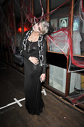 PIXIE GELDOF at the 3rd annual Browns Focus Halloween Party held at the Shepherd's Bush Pavilion, London W12 on 30th October 2009.