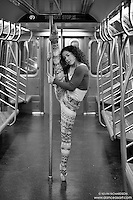 New York City Subway Series Dance As Art- The New York Photography featuring Micaela Mamede.