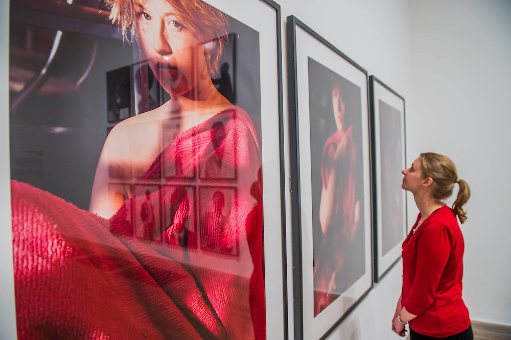 Works by Cindy Sherman, Untitled - Tate Modern's new photography show, Performing for the Camera. The exhibition examines the relationship between photography and performance, from the invention of photography in the 19th century to the selfie culture of today, bringing together over 500 images spanning 150 years. Highlights include: artist Romain Mader and his series Ekaterina, which follows Romain's fictitious search for a bride in Eastern Europe; Amalia Ulman's social media sensation Excellences and Perfections performed over a four month period on Instagram; and a wall of artist-designed advertising posters by the likes of Jeff Koons, Andy Warhol and Joseph Beuys. Performing for the Camera is at Tate Modern from 18 February – 12 June 2016.