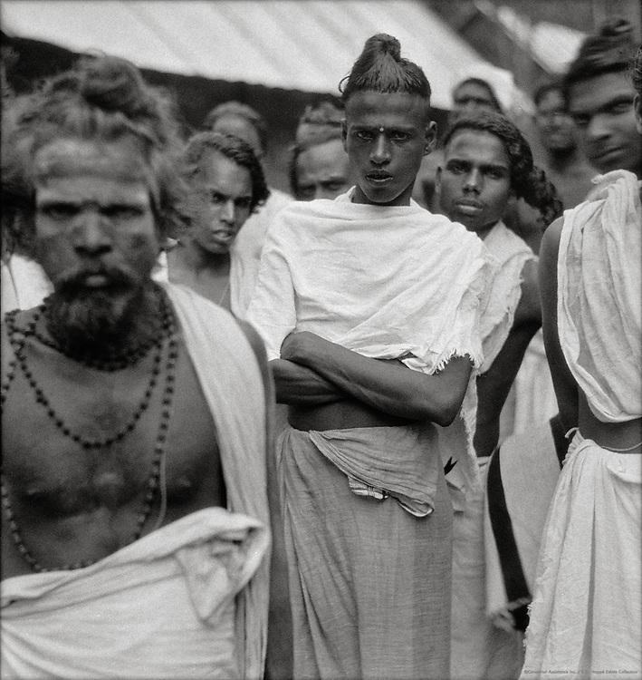 Malayali Brahmins, Trivandrum, India, 1929