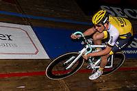 """GENT, BELGIUM, NOVEMBER 12: Sep Vanmarcke pictured during """"Ciao Fabian"""". An event to honour Fabian Cancellara's carreer. In Kuipke, Gent, Belgium on Saturday, november 12 2016 *** © Gregory Van Gansen***"""