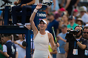 Marketa Vondrousova of the Czech Republic in action during the second round at the 2018 US Open Grand Slam tennis tournament, at Billie Jean King National Tennis Center in Flushing Meadow, New York, USA, August 30th 2018, Photo Rob Prange / SpainProSportsImages / DPPI / ProSportsImages / DPPI