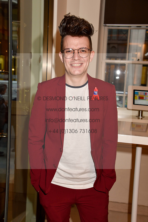 Mark Morgan at the Terence Higgins Trust Auction 2017 at Christie's, 8 King Street, St.James's, London England. 11 April 2017.