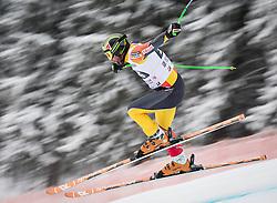 21.02.2013, Kandahar, Garmisch Partenkirchen, AUT, FIS Weltcup Ski Alpin, Abfahrt, Herren, 1. Training, im Bild Manuel Osborne-Paradis (CAN) // Manuel Osborne-Paradis of Canada in action during 1st practice of the  mens Downhill of the FIS Ski Alpine World Cup at the Kandahar course, Garmisch Partenkirchen, Germany on 2013/02/21. EXPA Pictures © 2013, PhotoCredit: EXPA/ Johann Groder