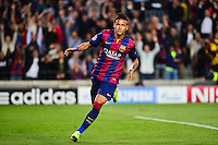 Joie NEYMAR JR - 21.04.2015 - Barcelone / Paris Saint Germain - 1/4Finale Retour Champions League<br />