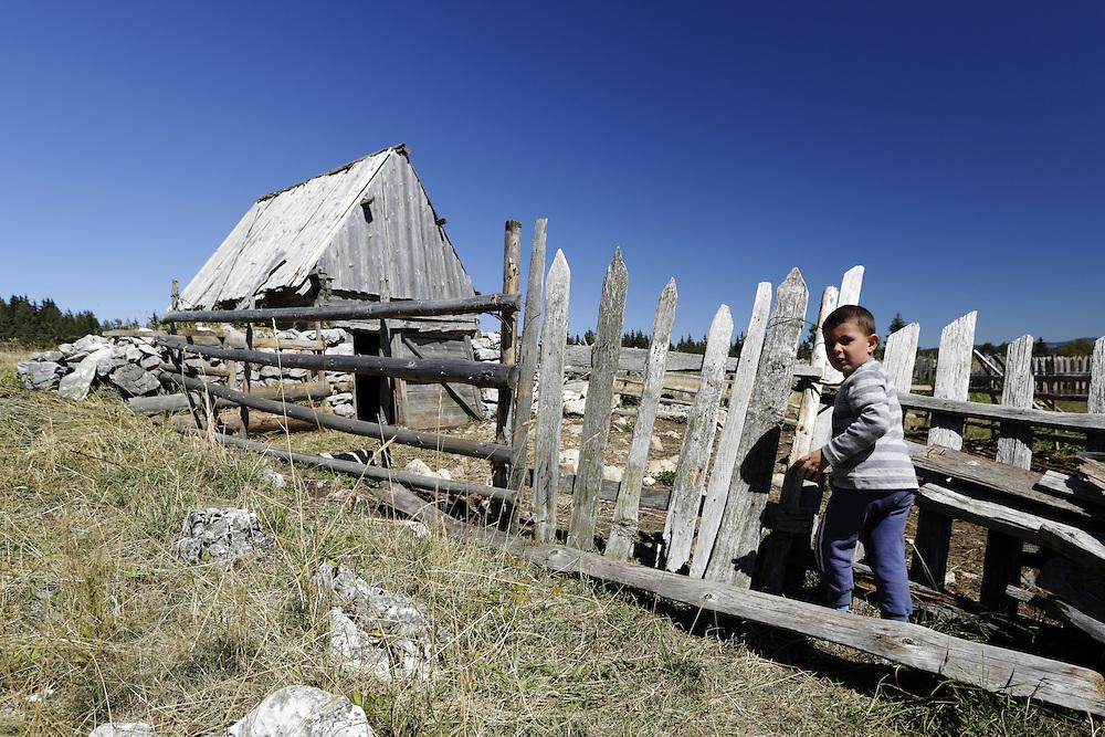 Pivska Planina, Durmitor, Montenegro.