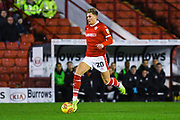 Brad Potts of Barnsley (20) attacks with the ball during the EFL Sky Bet League 1 match between Barnsley and Charlton Athletic at Oakwell, Barnsley, England on 29 December 2018.