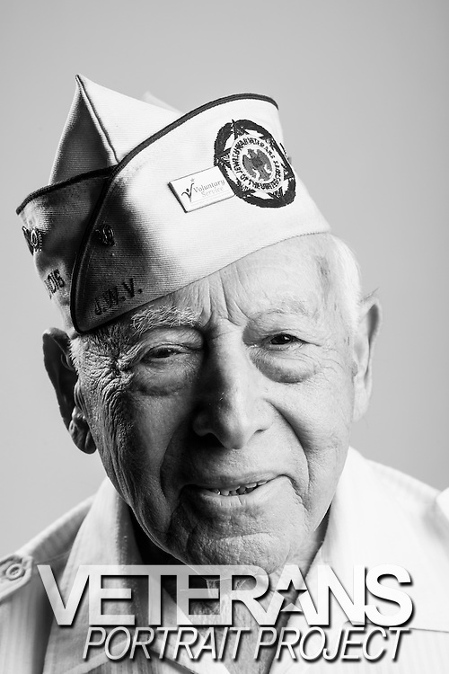 Jerry Berns<br /> Army Air Corps<br /> E-6<br /> Infantry<br /> Dec. 8, 1942 - Feb. 11, 1946<br /> WWII (Battle of the Buldge)<br /> <br /> Veterans Portrait Project<br /> Charleston, SC<br /> Jewish War Veterans