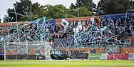 FODBOLD: FC Helsingør fans under kampen i ALKA Superligaen mellem Lyngby Boldklub og FC Helsingør den 10. september 2017 på Lyngby Stadion. Foto: Claus Birch