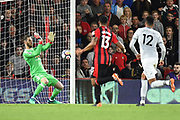 David De Gea (1) of Manchester United makes a save during the Premier League match between Bournemouth and Manchester United at the Vitality Stadium, Bournemouth, England on 18 April 2018. Picture by Graham Hunt.