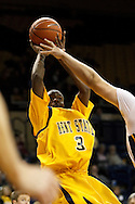 26 January 2010:  Kent State's Randal Holt (3) during the NCAA basketball game between Kent State and the Toledo Rockets at Savage Arena in Toledo, OH.