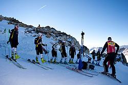 22.09.2010, Mölltaler Gletscher, Flattach, AUT, OeSV Training Moelltaler Gletscher, im Bild Trainingsgruppe des deutschen Skiverbandes (DSV). EXPA Pictures © 2010, PhotoCredit: EXPA/ J. Groder