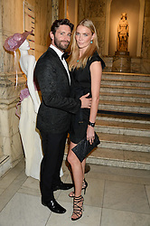 JODIE KIDD and DAVID BLAKELEY at the WGSN Global Fashion Awards held at the V&A museum, London on 30th October 2013.
