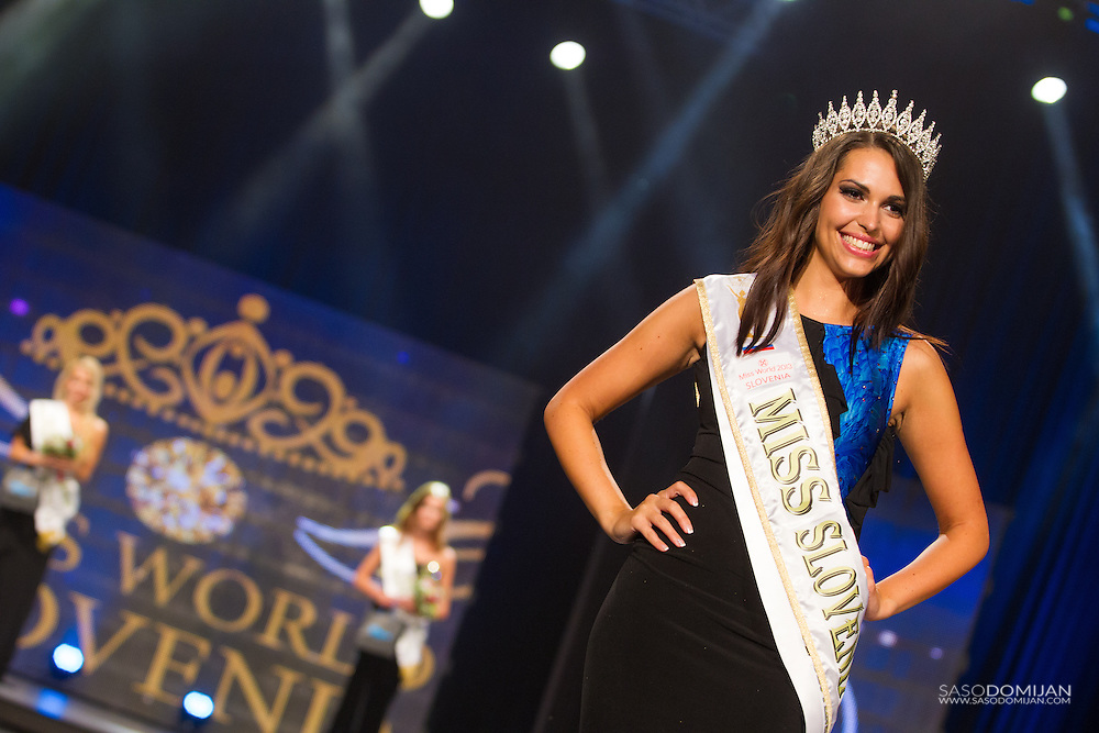 The winner of Miss Slovenia for Miss World 2013 Maja Cotic