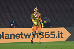 December 29, 2018 - Naples, Naples, Italy - Alex Meret of SSC Napoli during the Serie A TIM match between SSC Napoli and Bologna FC at Stadio San Paolo Naples Italy on 29 December 2018. (Credit Image: © Franco Romano/NurPhoto via ZUMA Press)