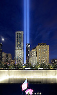 Ground Zero Memorial, 2016. New York City.