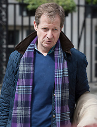 © Licensed to London News Pictures. 26/04/2017. London, UK. Alastair Campbell arrives at Tony Blair's office in the West End. Earlier, Mr Blair met with his former Scottish Labour leader Jim Murphy. Mr Blair recently called for voters to think about backing Lib Dem or Conservative candidates in the general election on June 8th if they promise to have an open mind about the terms of the final Brexit deal. Photo credit: Peter Macdiarmid/LNP