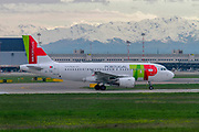 TAP Air Portugal Airbus A319-100 (CS-TTD) at Milan - Malpensa (MXP / LIMC) Italy