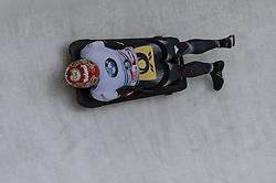 03.02.2017, Olympia Eisbahn, Igls, AUT, IBSF Weltcup, Igls, Skeleton, Damen, im Bild Tina Hermann (GER) // Tina Hermann (GER) during the Ladies Skeleton BMW IBSF World Cup at the Olympia Eisbahn in Igls, Austria on 2017/02/03. EXPA Pictures © 2017, PhotoCredit: EXPA/ Stefan Adelsberger
