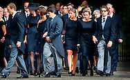 LAGE VUURSCHE - Prince Bernhard Jr. arrives with his wife princes Annette for the funeral of prince Friso. Prince Bernhard Jr. has recently adopted a form of lymphoma. According to the RVD suffers the 43-year-old prince of non-Hodgkin's lymphoma. The disease, which is yet to be investigated, will provisionally the daily functioning of the prince hinder, according to the service. Bernhard, the second son of Princess Margriet and Pieter van Vollenhoven, has been treated for several years for Crohn's disease. In 2008 the prince had surgery for a benign stricture of his intestine.<br /> The full prince called His Highness Prince Bernhard of Orange-Nassau van Vollenhoven, is no longer a member of the Royal Family. Since the change of rule on 30 April Bernhard Jr. is married to Annette Sekreve since 2000. The couple has three children, a daughter and two sons. COPYRIGHT ROBIN UTRECHT
