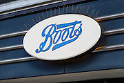 Boots. High street shops and shopping,  January 2009, Lowestoft, Suffolk, England