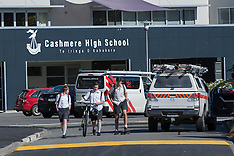 Christchurch-Workman injured in transformer explosion at Cashmere High School