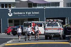 Christchurch-Workman injured in transformer explosion at Cashmere High School