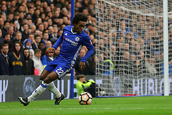 Michy Batshuayi of Chelsea on the attack - Mandatory by-line: Jason Brown/JMP - 28/01/2017 - FOOTBALL - Stamford Bridge - London, England - Chelsea v Brentford - Emirates FA Cup fourth round