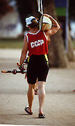 .Barcelona Olympic Games 1992.Olympic Regatta - Lake Banyoles.CCCP W2X..       {Mandatory Credit: © Peter Spurrier/Intersport Images]..........       {Mandatory Credit: © Peter Spurrier/Intersport Images].........