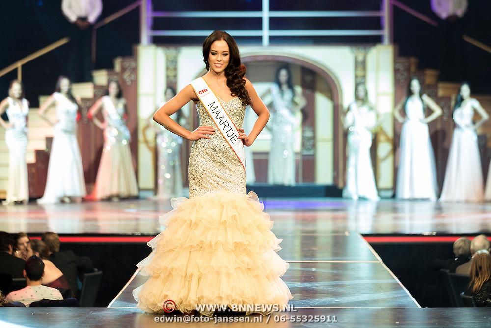 NLD/Hilversum/20131208 - Miss Nederland finale 2013, Maartje Rinket