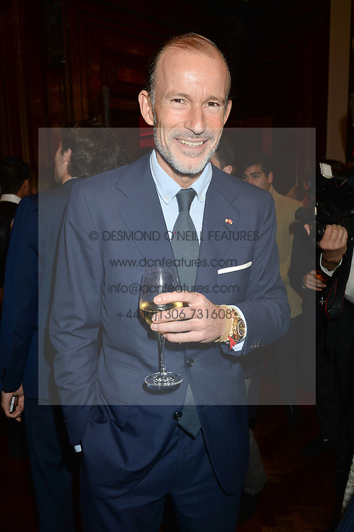 PRINCE KYRIL OF BULGARIA at a party to celebrate the launch of the Maison Assouline Flagship Store at 196a Piccadilly, London on 28th October 2014.  During the evening Valentino signed copies of his new book - At The Emperor's Table.