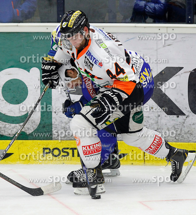 27.10..2013, Stadthalle, Villach, AUT, EBEL, EC VSV vs Moser Medical Graz99ers, 28. Runde, im Bild Oliver Latendresse (Graz99ers,#44) // during the Erste Bank Icehockey League 28th round between EC VSV vs Moser Medical Graz99ers, at the City Hall, Villach, Austria, 2013/10/27, EXPA Pictures © 2013, PhotoCredit: EXPA/ Oskar Hoeher