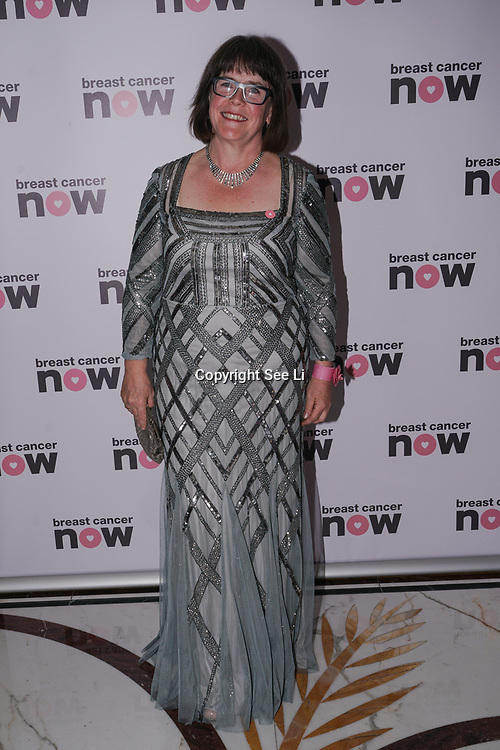 London, UK. 14th October, 2017. Baroness Delyth Morgan attends London's Dorchester Hotel hosts Breast Cancer Campaign's Pink Ribbon Ball 2017.