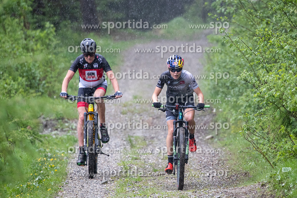 11.06.2019, Kals am Grossglockner, AUT, Laura Stigger Bike Challenge, Zeitfahrt, im Bild Laura Stigger und Othmar Peer // Laura Stigger and Othmar Peer during time ride for the Laura Stigger Bike Challenge in Kls am Grossglockner. Austria on 2019/06/11. EXPA Pictures © 2019, PhotoCredit: EXPA/ Johann Groder